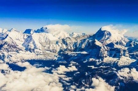 Himalaya Everest range view  mural