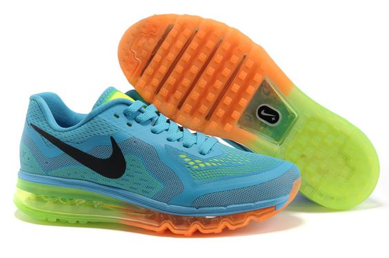 Max 2014, Orange Black, Black Shoes, Women Nike, Blue Orange, Nikes