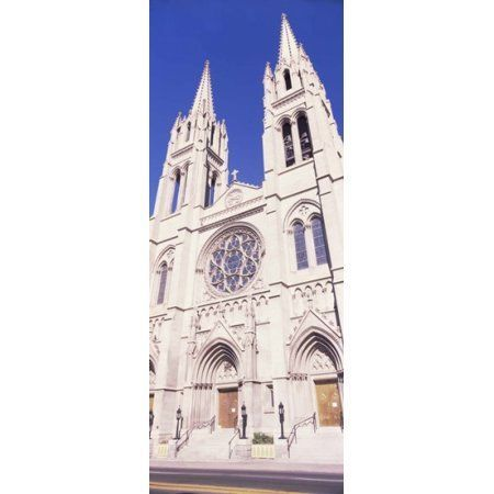 Facade of Cathedral Basilica of the Immaculate Conception Denver Colorado USA Canvas Art - Panoramic Images (15 x 6)
