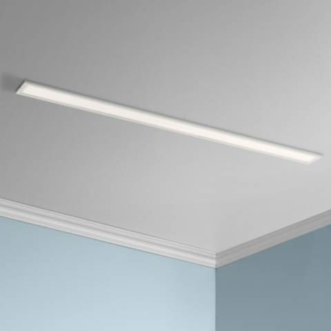 Maxim Wafer 48 Long White 4000k Led Linear Ceiling Light 47p68 Lamps Plus Long Ceiling Lights Ceiling Lights Led Closet Light