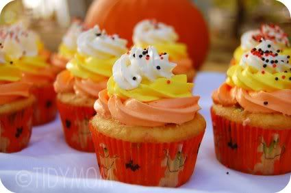 Scratch cupcakes from a mix!