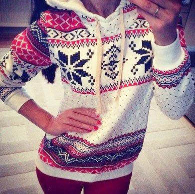 Gender: Women Item Type: Hoodies,Sweatshirts Clothing Length: Regular Hooded: Yes Collar: Tie Collar Sleeve Length: Full Color Style: Natural Color Pattern Type: Winter Sleeve Style: Regular Type: Pul