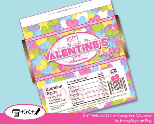Pinterest o the worlds catalog of ideas for Diy candy bar wrapper