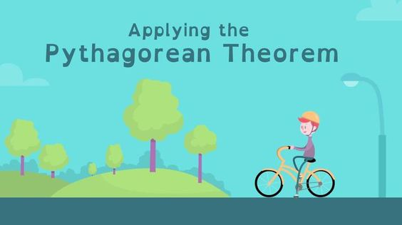 Applying the Pythagorean Theorem- In this video, learn how using the Pythagorean theorem can help people solve real-world problems involving distances. In the accompanying classroom activity, students develop their problem-solving, spatial reasoning, and geometry skills by putting the Pythagorean theorem to use.