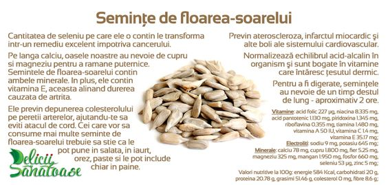 Sunflower seeds @DeliciiSanatoas