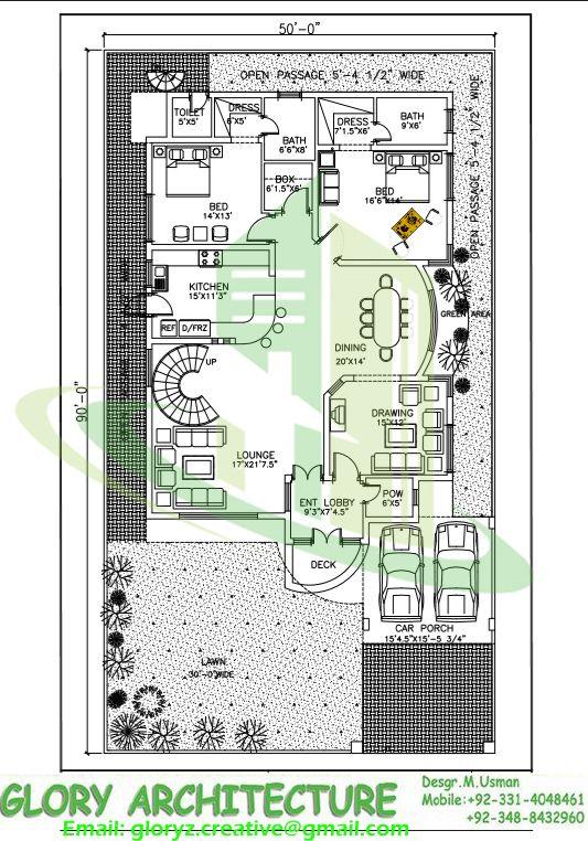 50x90 house plan G 15 islamabad house map and drawings Khayaban e Kashmir  islamabad  1. House Plan Layout Drawing