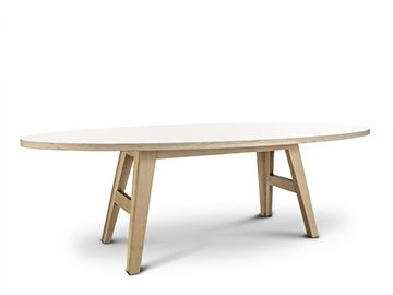 A legs cc collection ovale tafel by arp oval tables - Tisch oval weiay ...
