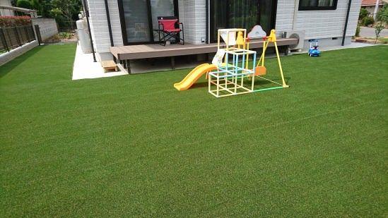 庭を人工芝にする方が把握すべきメリット デメリット19選 電気計画 バックヤード 戸建住宅