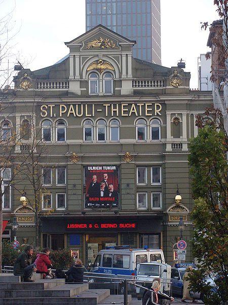 St Pauli Theater #welovehh #typischhamburch #Moin