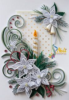 Neli Quilling Art: Preparation for Christmas _ # 5