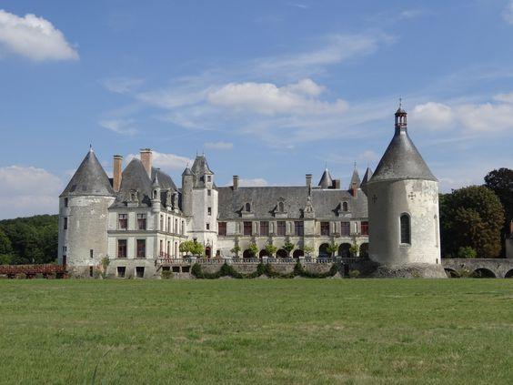 Château de La Motte à Sonzay