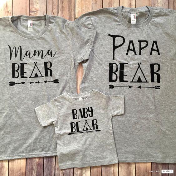 Ours de Mama Papa ours bébé ours frère sœur par CloudNineandCompany
