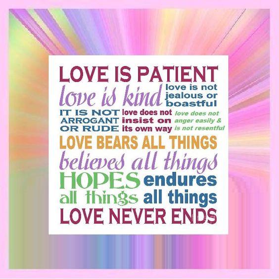 "sweetbrunet on Twitter: """"@StressFREEStuff: Love is Patient - Love is Kind  Love is Not Rude  Love does Not Anger Easily @RockChristopher   https://t.co/Ic49tLKpVG"""""