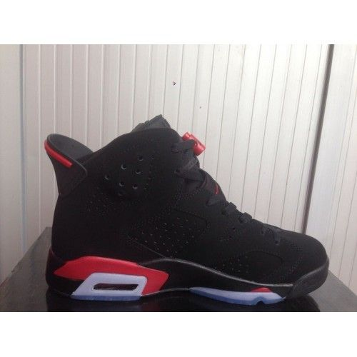 Red basketball shoes, Air jordans