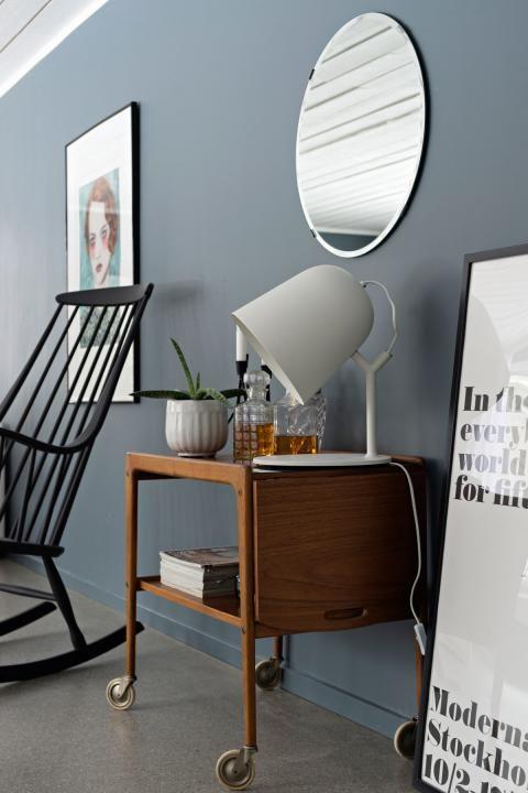 Wohnzimmer In Grau Schone Beispiele Schoner Wohnen In 2020 Blaue Wohnzimmer Schoner Wohnen Wandfarbe Wohnzimmer Grau