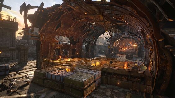 Gears of War 4 'Impact' Multiplayer Map Flythrough - IGN First Playing as the DeeBees on the map 'Impact' in Gears of War 4 multiplayer. August 10 2016 at 05:00PM  https://www.youtube.com/user/ScottDogGaming