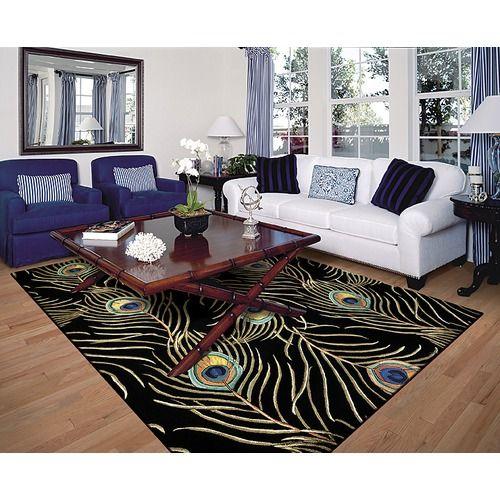 Peacock rug!:
