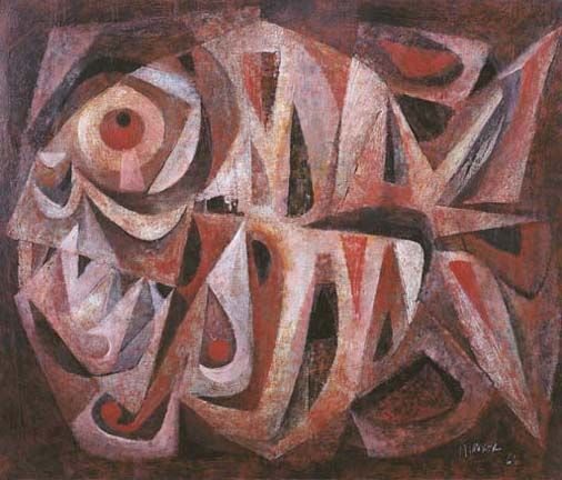 ang kiukok paintings | Ang KiuKok, Still life- Fish , 1965. Christie's (sold for $11,660 in ...