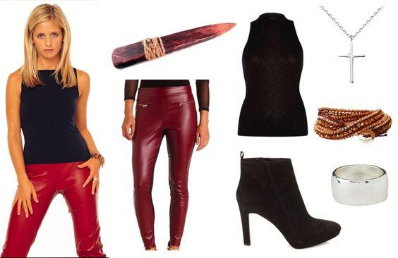 Buffy Fashion Blog Halloween