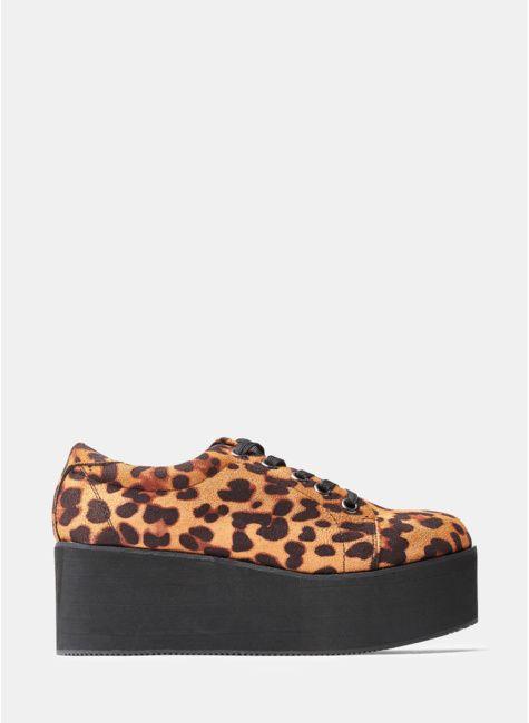 Polbuty Damskie Na Koturnie Obcasie Slupku I Sznurowane Sklep Deezee Shoes Slip On Sneaker Sneakers