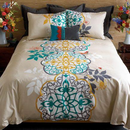 Blissliving Home Shangri La Duvet Set Reversible