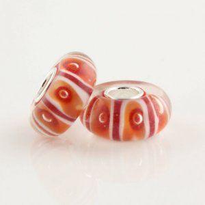 Pandora Beads-Pandora Murano Glass Spots Bead-£4.98
