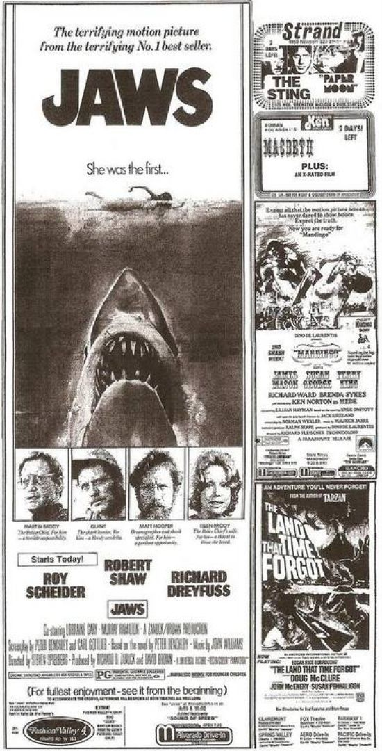 summary of film jaws essay Jaws - short summary jaws media coursework essay introduction this essay that i am doing is about a film called jaws.