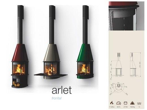 Chimeneas Frontales - TRAFORART.NET Cheminée Arlet Frontale de Traforart #cheminée #fireplace