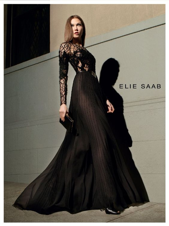I swear, you can't go wrong with Elie Saab, one of my fave.