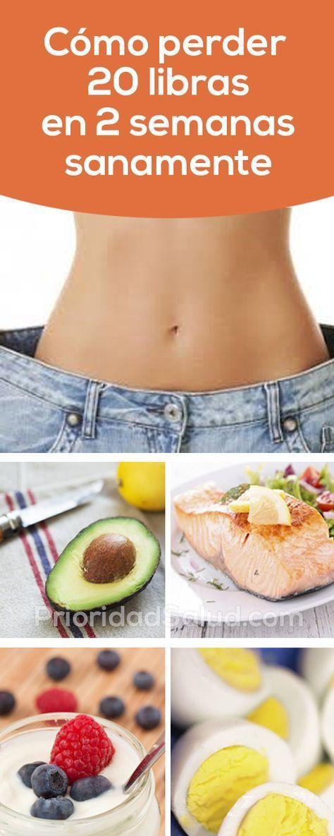 Dieta para bajar 10 libras en 3 dias
