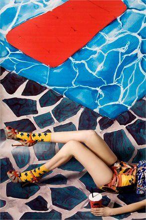 La mise en scene by Carlotta Bertelli Photo, Elisa Zaccanti Stylist