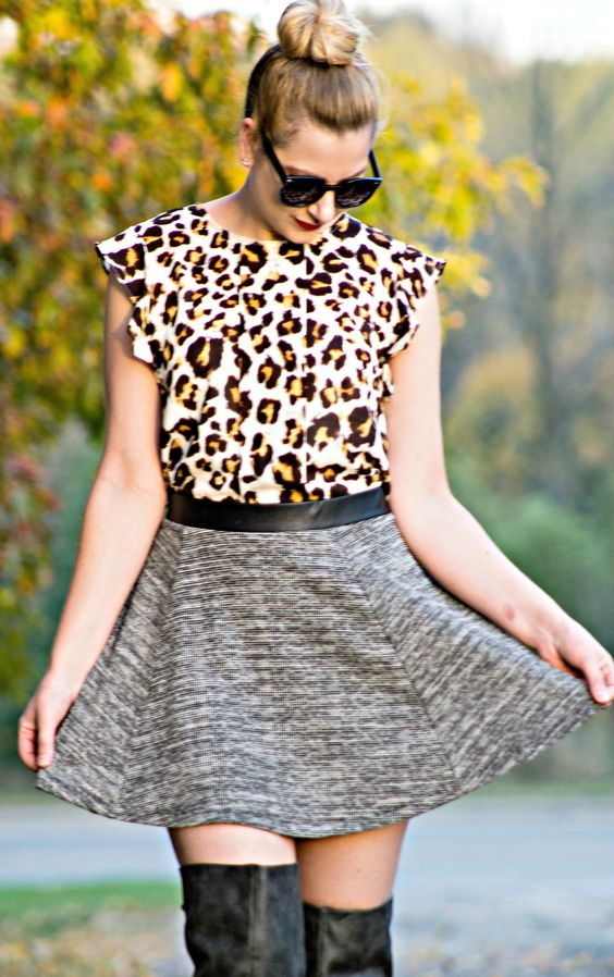 Leopard and Tweed