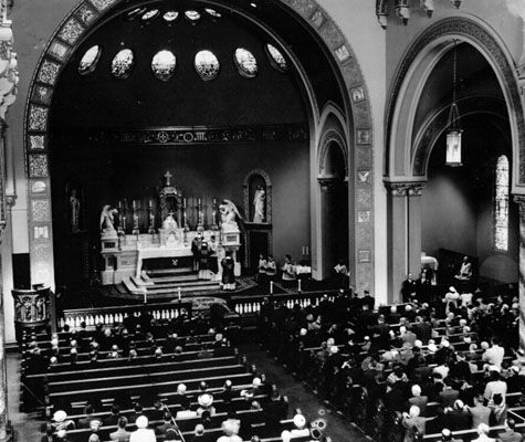 St. Brigid's Cathedral 1952