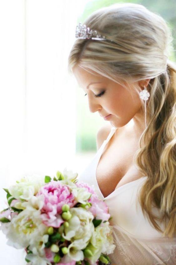 Wedding Hairstyles Long Hair With Veil Design 533x800 Pixel