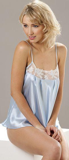 silk camisoles light blue