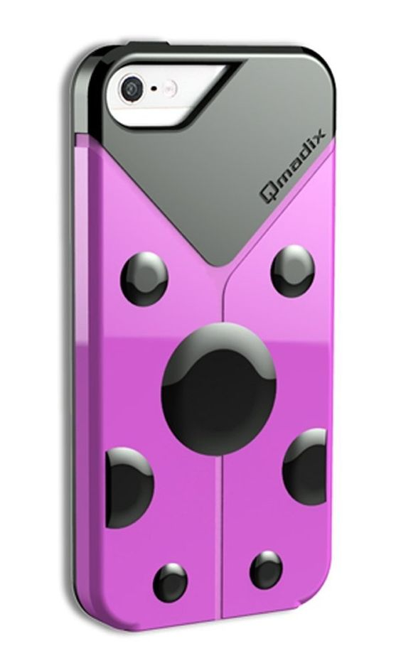Qmadix LoveBug Protective Skin Case for Apple iPhone 5/5S (Pink)   $7.43