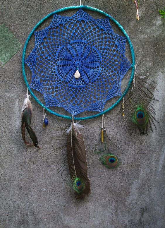 Dreamcatcher | mni. handmade vintage lace doily dream by sundayfrenchtoast, $68.00