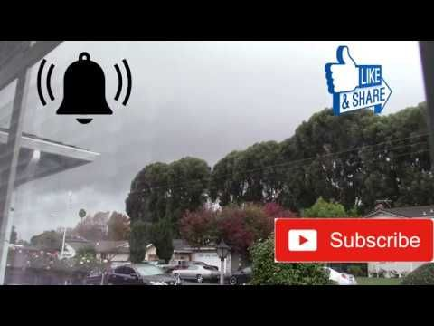 Impressive Squall Line Moving Through Union City Ca Youtube Earth From Space Squall Youtube