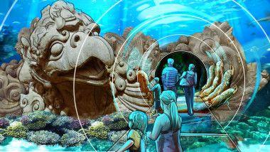 Sea Life #Orlando #Aquarium Receives Its First Fish!