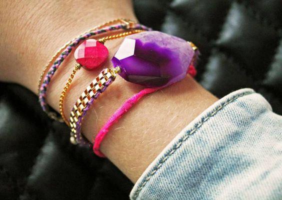 Lottas DIY – Ein Achatarmband selbermachen | Infamous Magazine