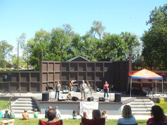 Pt Nampa Idaho Bandshell The Experience Sda Church At Lakeview Park Maybe 13 Nampa Idaho Canyon County Nampa