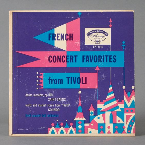 French Concert Favorites from Tivoli album cover, via Flickr