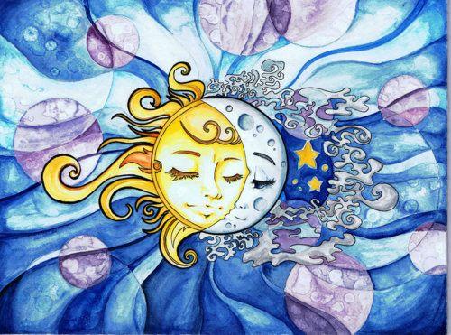 Sun and Moon ~ *daydreamer-art