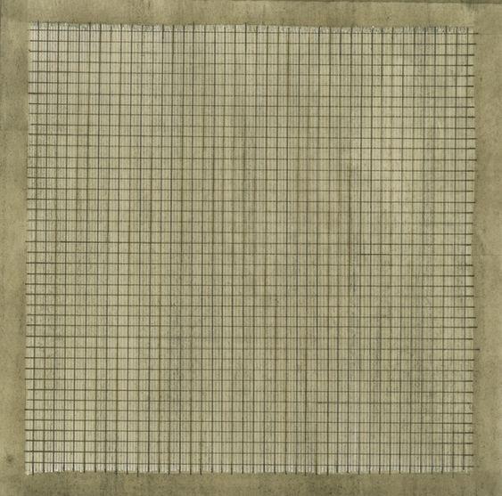 Agnes Martin | Wood 1 (1965) | Artsy