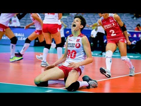 19 Years Old Ebrar Karakurt Crazy Volleyball Player Hd Youtube In 2020 Coaching Volleyball Volleyball Players Basketball Girls