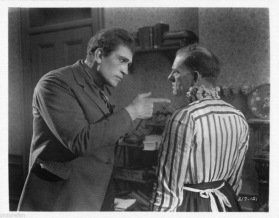 Victor McLaglen and Lon Chaney