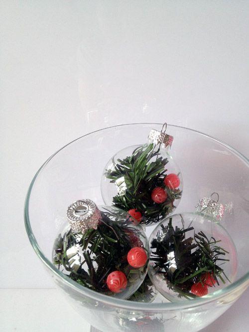 my diy christmas ornaments