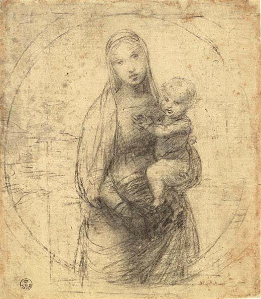 Raffaello Sanzio 1483-1520   Renaissance Drawings