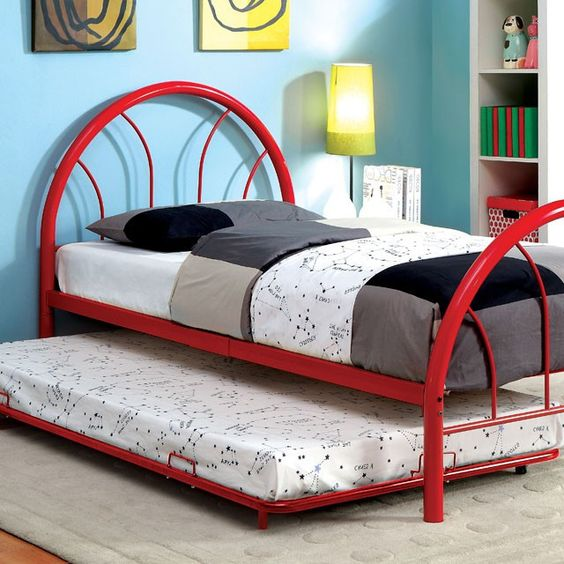 Rainbow Twin Bed Collection CM7712RD-T