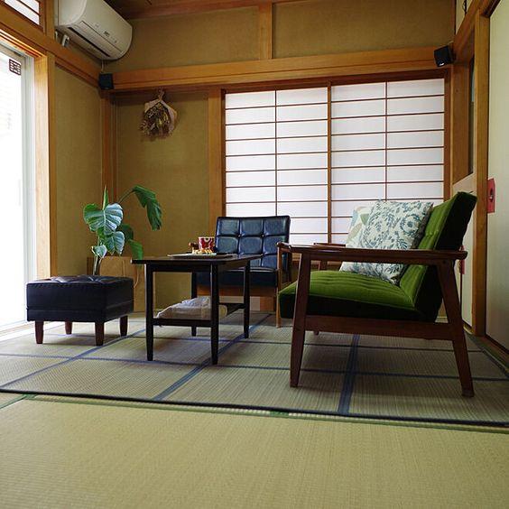 家具 ブランド インテリア カリモク60 和室 レトロ クラシック コーディネート